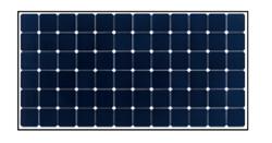 東芝太陽電池モジュール